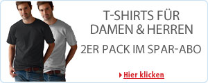 T-Shirts im Amazon Spar-Abo
