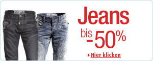 Jeans bis -50%