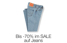 Jeans stark reduziert