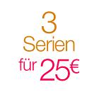 3 TV-Serien für 25 EUR