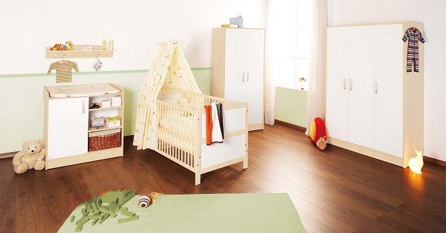 Pinolino 100095g florian kinderzimmer gro bestehend for Kinderzimmer ohne bett