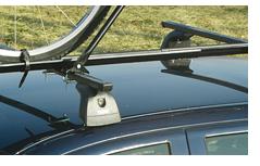 Dachträger für Autos mit Rinne