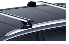 Dachträger für Autos mit reling