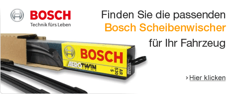 Bosch Scheibenwischer-Finder