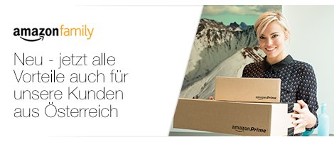 Amazon Family auch in Oesterreich
