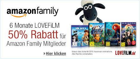 Amazon Family Lovefilm