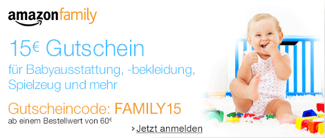 Amazon family 15EUR GC