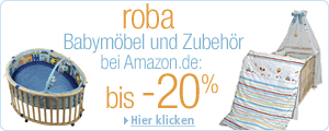 roba bis -20% bei Amazon.de