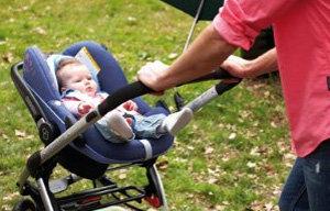 Mit dem Baby unterwegs