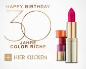30 Jahre Color Riche