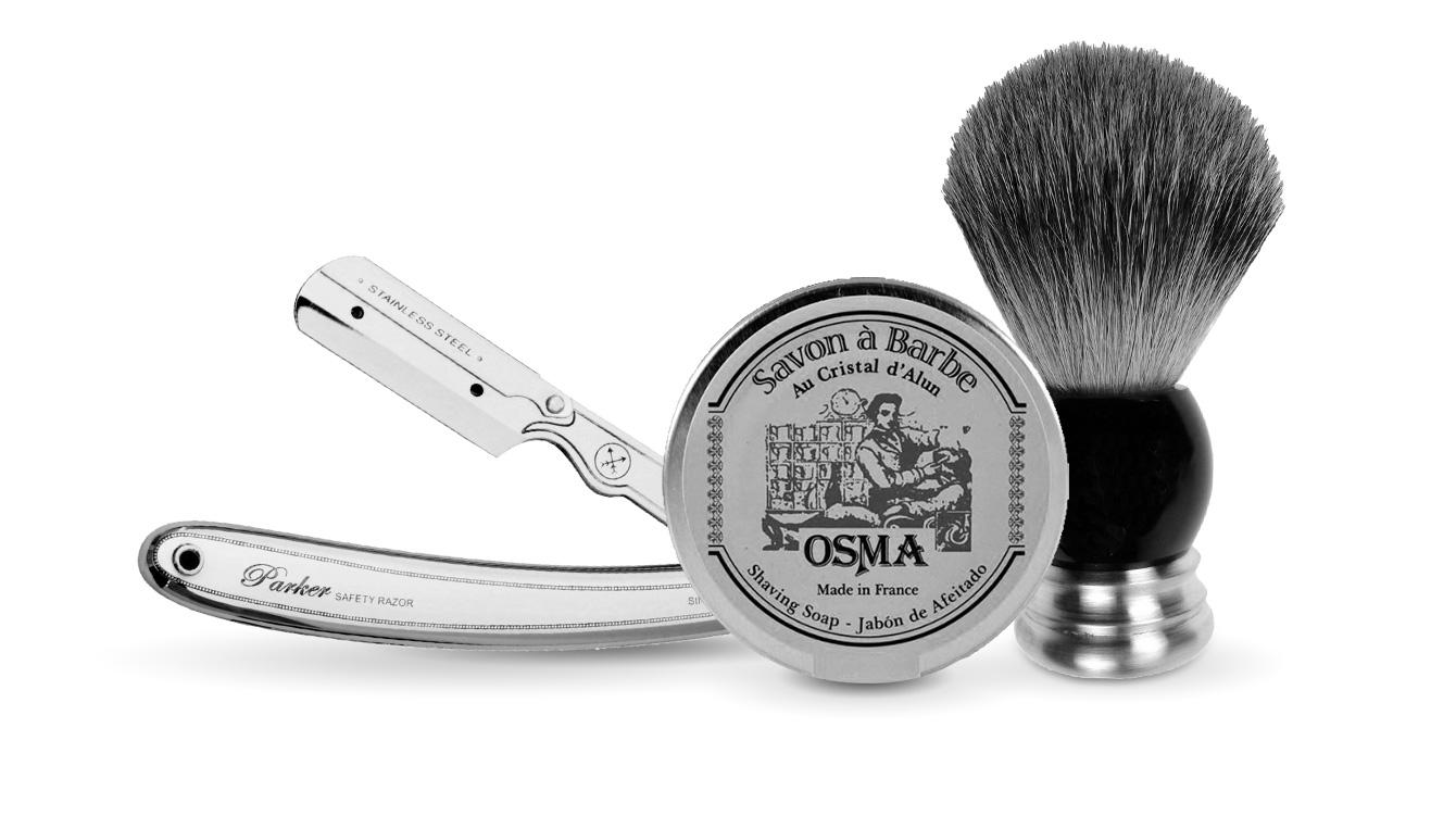 Klassische Rasurprodukte