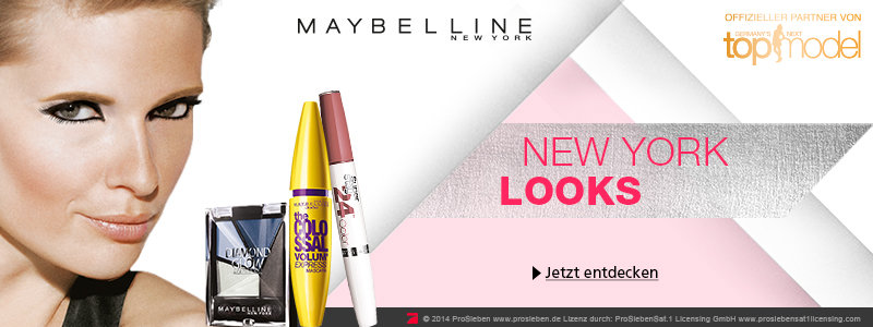 Maybelline Germany Next Topmodel