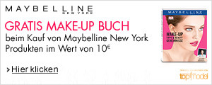 Gratis Maybelline Make-Up Buch