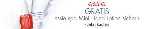 gratis essie spa Mini Hand Lotion