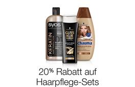20% Rabatt auf Haarpflege-Sets