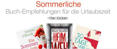Sommerliche Buch-Empfehlungen