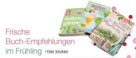 Fruehlingsbucher