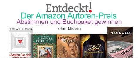 Entdeckt! Der Amazon Autoren-Preis