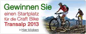 Craft Bike Transalp Startplatz gewinnen
