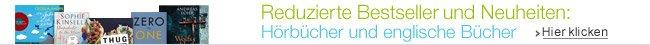 Reduzierte Bestseller und Neuheiten - H�rb�cher und englische B�cher