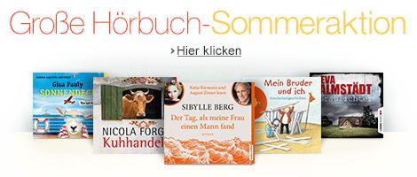 Große Hörbuch-Sommeraktion