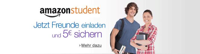 Amazon Student - Gratis-Lieferung am naechsten Tag