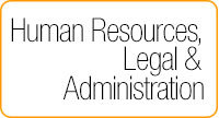 human resources, legal and administration