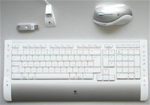 logitech cordless desktop s 530 mac kabellose tastatur. Black Bedroom Furniture Sets. Home Design Ideas