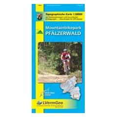 Topographische Sonderkarten Rheinland-Pfalz. Sonderblattschnitte auf der Grundlage der amtlichen topographischen Karten, meist größeres Kartenformat ... Mountainbikepark Pfälzerwald 1 : 50 000