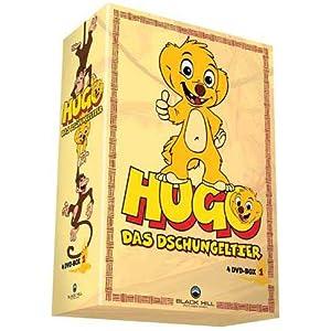 Hugo, das Dschungeltier - Boxset DVD 1-4 (4 DVDs)