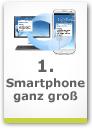 Smartphone ganz gro�