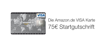 ​Die Amazon.de VISA Karte