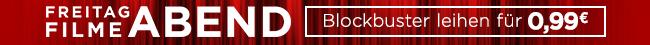 Nur heute: 10 Blockbuster f�r je 0,99 EUR leihen