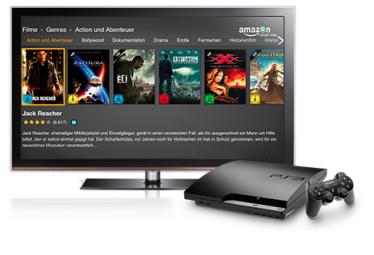 Aufgefrischt: Amazon Prime Instant Video auf PS3®