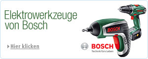 Elektrowerkzeuge Bosch bis zu 30% redziert