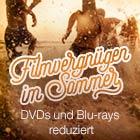 Filmvergnügen im Sommer - DVDs & Blu-rays reduziert