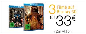 3 Blu-rays f�r 33EUR