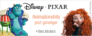 Disney Pixar Preisaktion