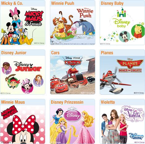 Disney Themenwelten