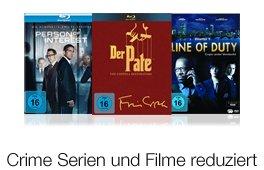 DVD & Blu-ray: Crime Serien und Filme reduziert