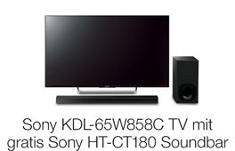Sony TV + Soundbar