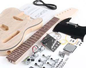 """Do-it-yourself"" E-Gitarre Bausatz"