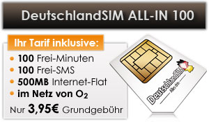 DeutschlandSIM ALL-IN 100