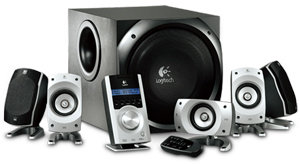 Logitech Z-5500 505 W RMS 5.1 THX HiFi Lautsprecher Surround-System