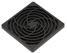 XILENCE Fan Filter für 120 mm Gehäuselüfter in Gesamtansicht
