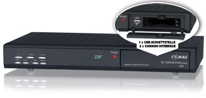 COMAG SL100HD PVRready 2CI