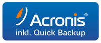 DIGITTRADE RS64 Festplatte inkl. Acronis Backup Software