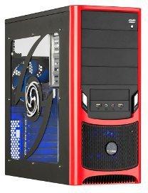 Raidmax Tornado ATX Mid Tower Gaming Case ATX-238WR in Gesamtansicht