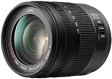 Panasonic H-VS014140E Superzoom-Objektiv Lumix G Vario F4.0-5.8/14-140 mm (28-280 mm KB) / OIS schwarz