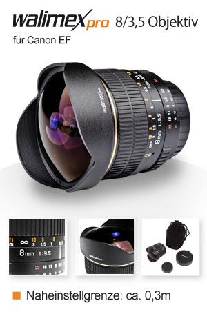Walimex Pro 8/3,5 Fish-Eye